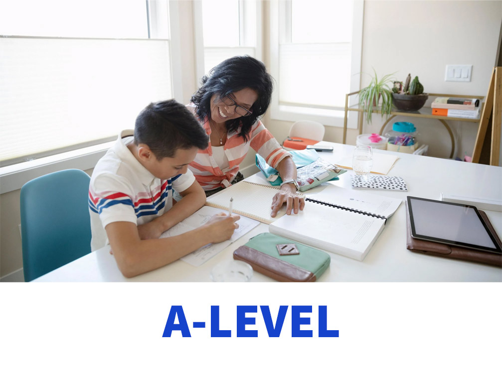 Learn home schooling A-level with tutors