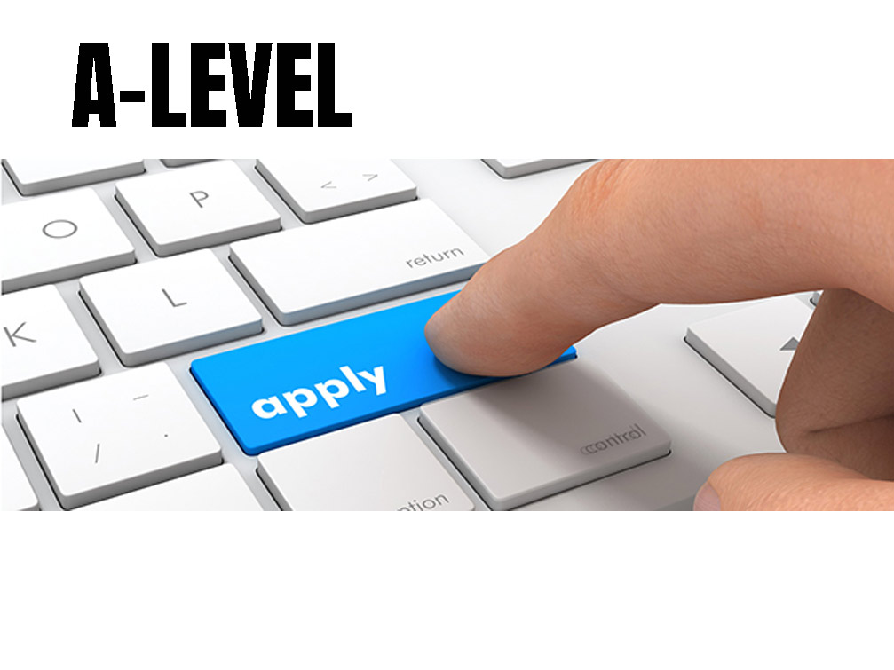 Is it possible to register for the A-level exam?