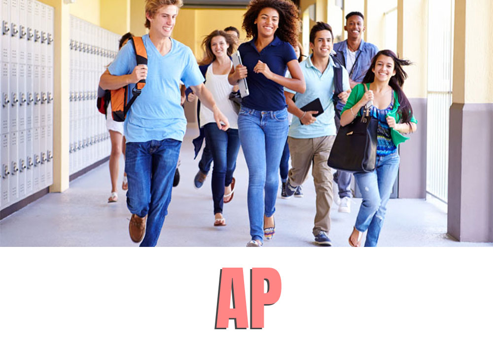 Why is AP easy to pass but difficult to get high scores?