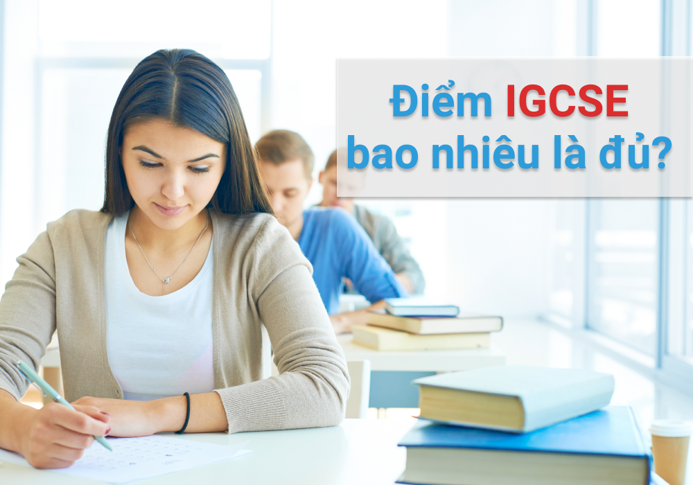 What is a good grade for IGCSE?